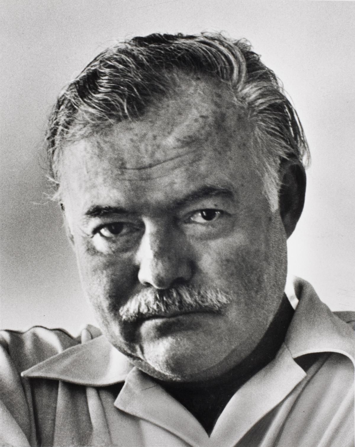 Alfred Eisenstaedt photos Writer Ernest Hemingway. Havana, Cuba, 1952.