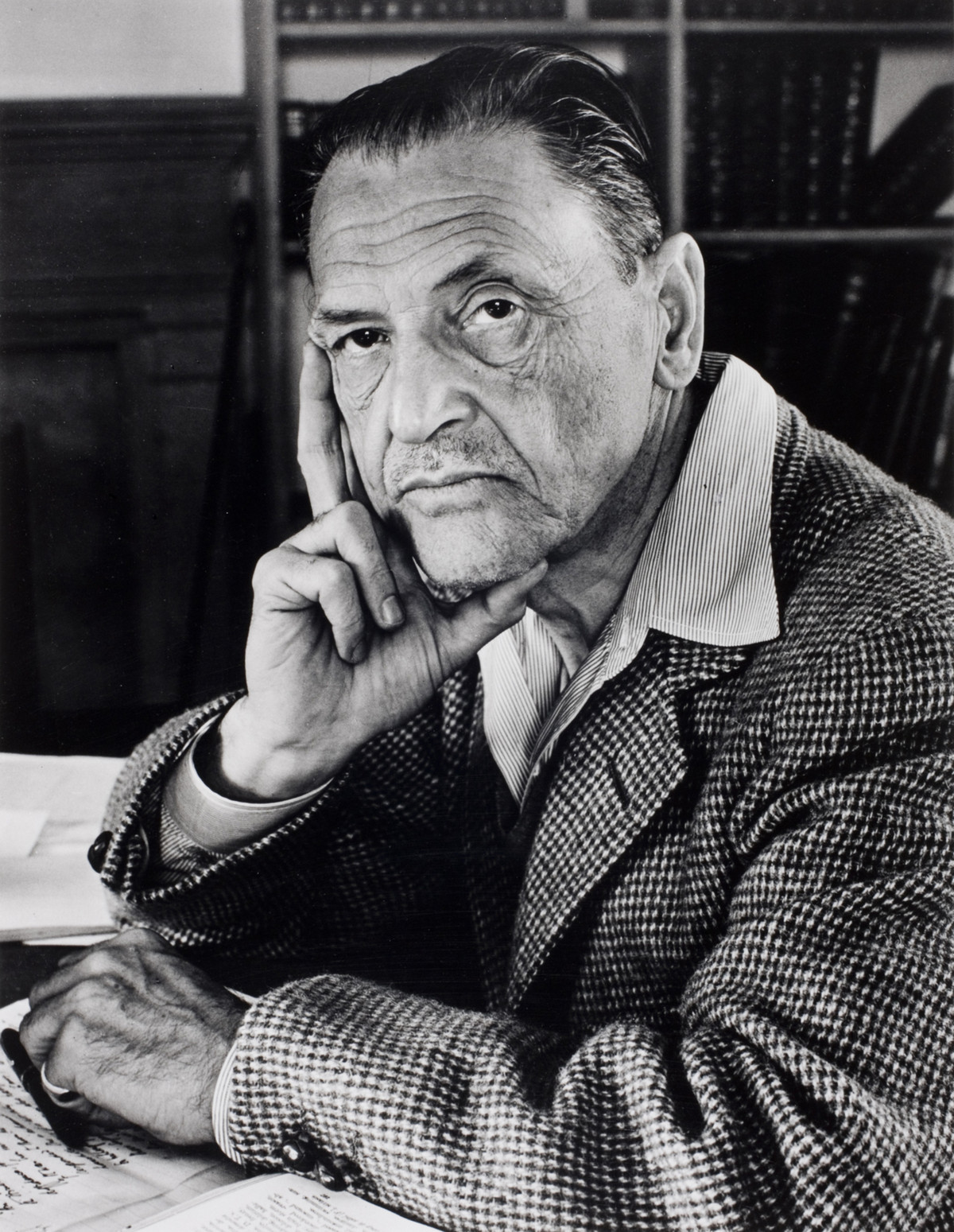 Writer William Somerset Maugham, South Carolina, USA, 1942.