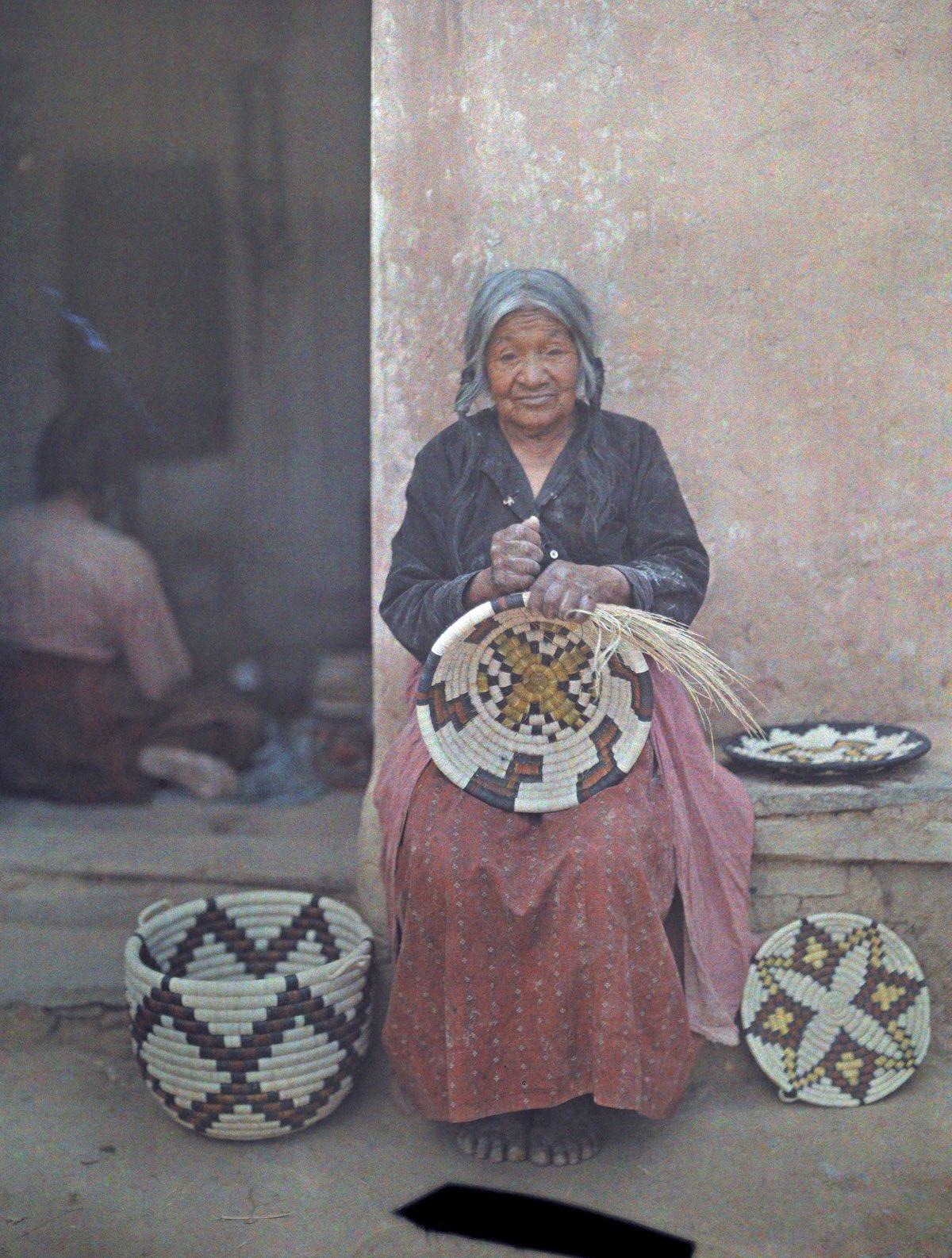 Portrait of a Hopi Indian 1920s
