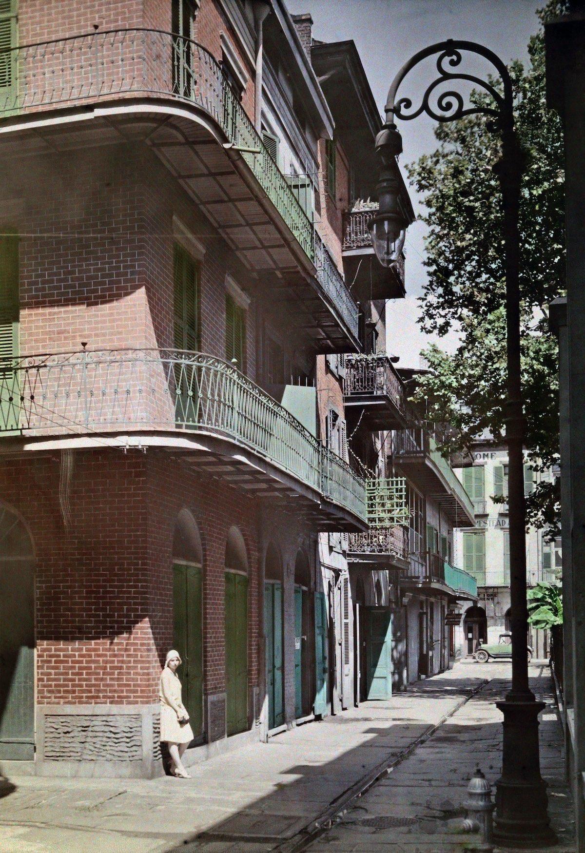 French Quarter, New Orlean 1920s