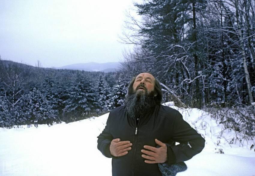 Alexander Solzhenitsyn Breathes Free