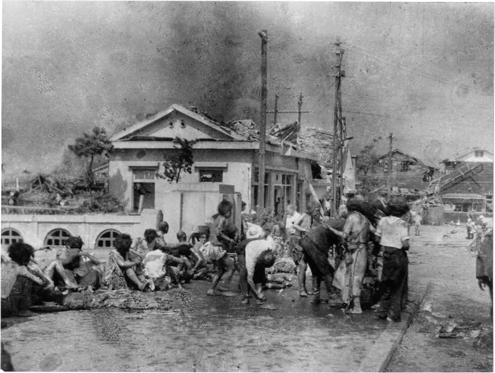 Hiroshima aftermath pictures right after the bombing
