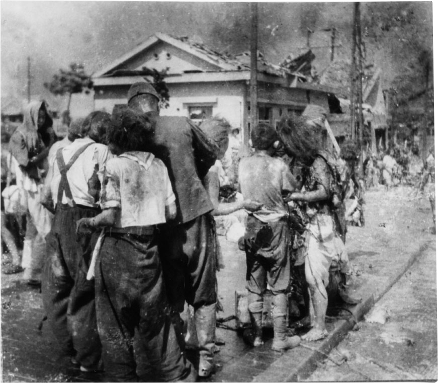 Hiroshima aftermath pictures