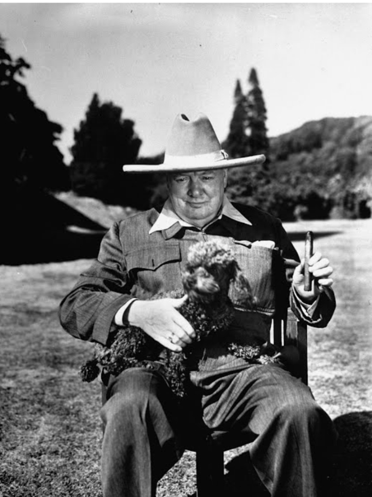 Winston Churchill an artist