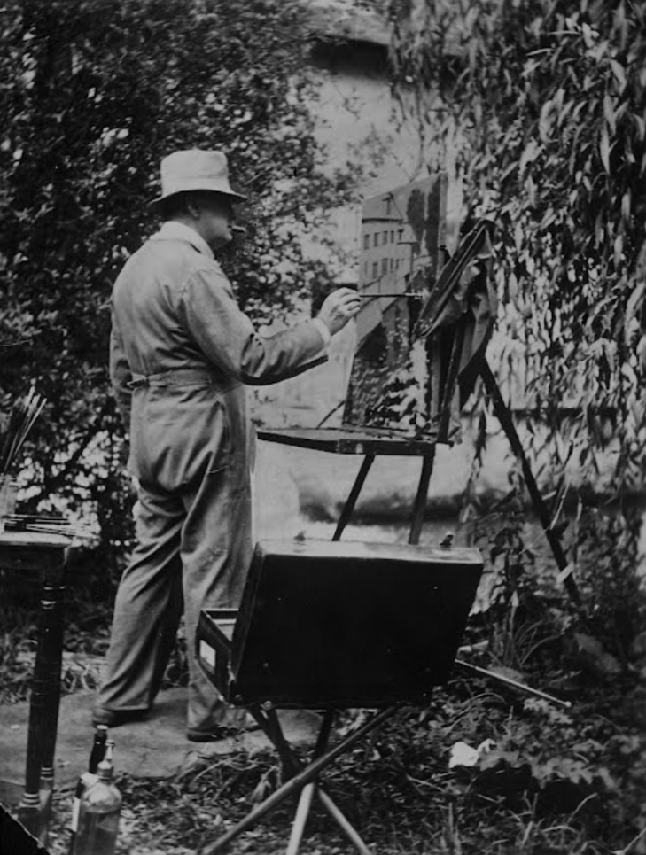 An artist Winston Churchill, 1939